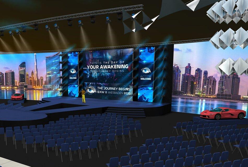 Event Agentur - On-Expo 3D Renderings