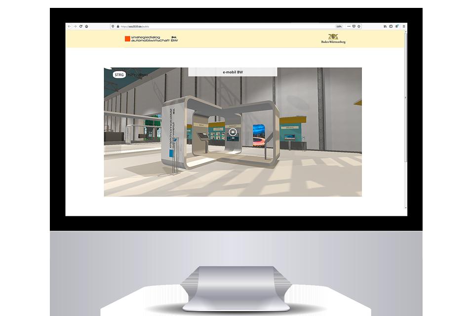 Aufbau einer virtuellen Ausstellung