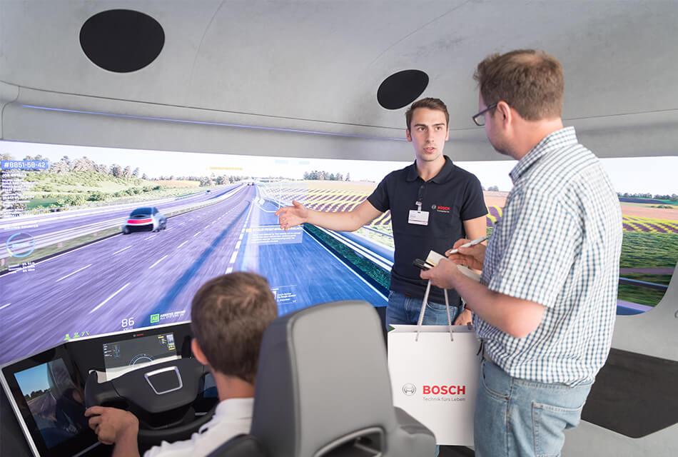 Event Agentur - Referenzen Bosch Herausforderung