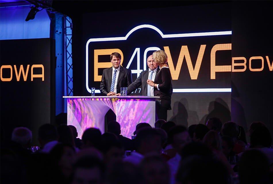 Event Agentur - Referenzen BOWA Einführung