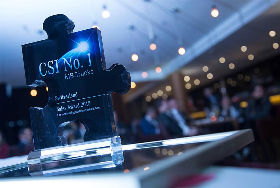 Event Agentur - Referenzen CSI Award Einführung