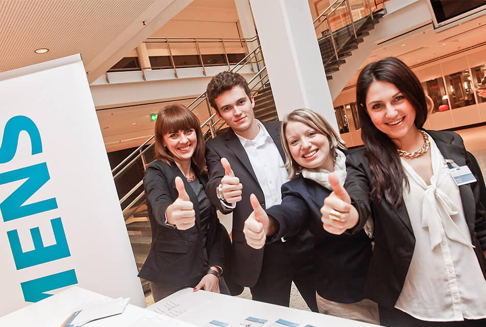 Event Agentur - Referenzen Siemens Einführung