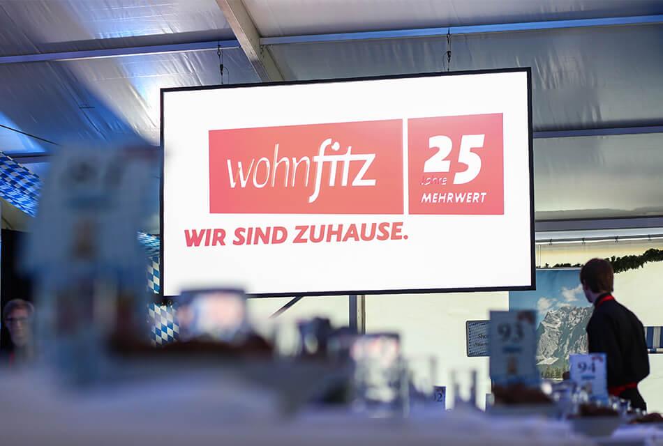 Event Agentur - Referenzen Wohnfitz Einführung