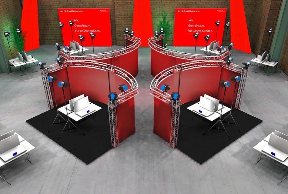 Event Agentur - Virtuelle Ausstellung Interaktive Elemente