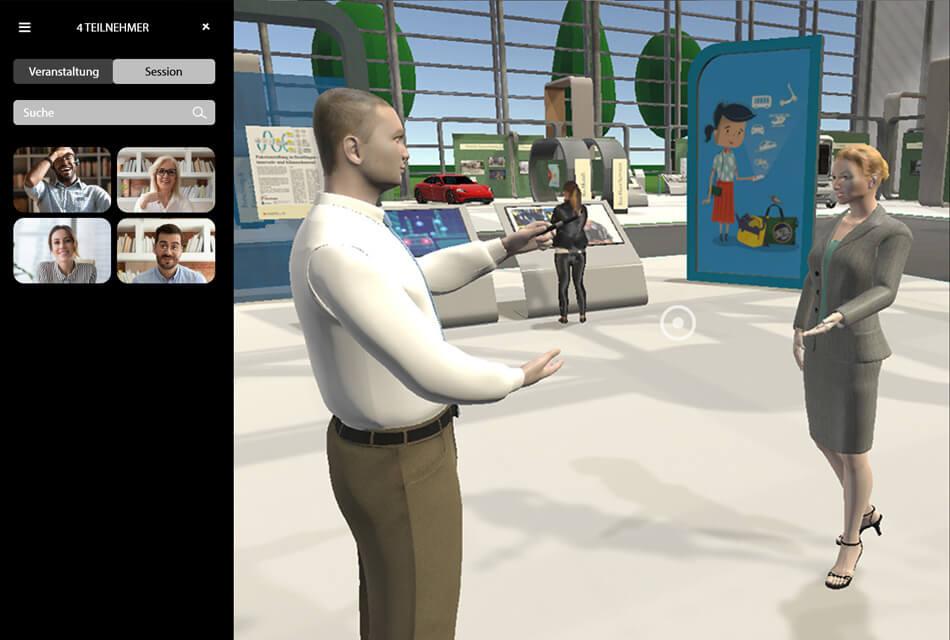 Event Agentur - On-Expo Live Interaktion