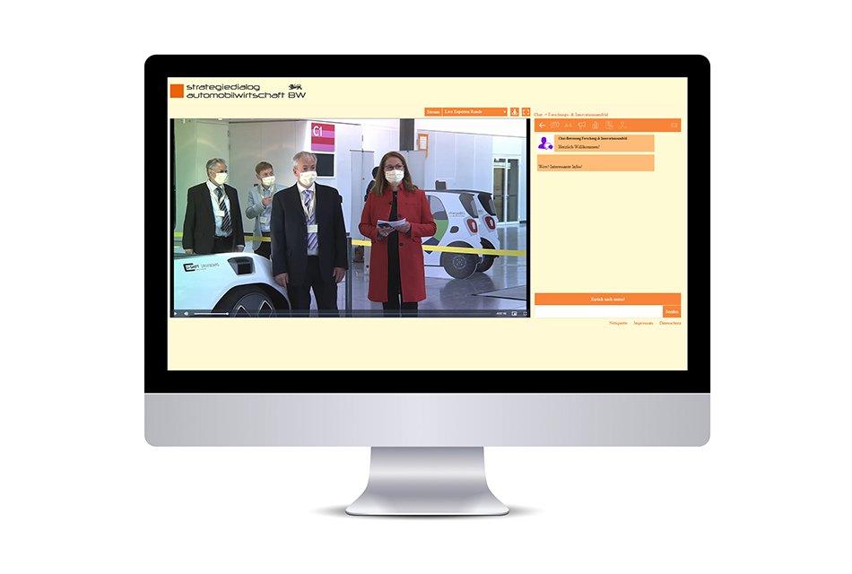 Event Agentur - Streaming Event - Austausch fördern